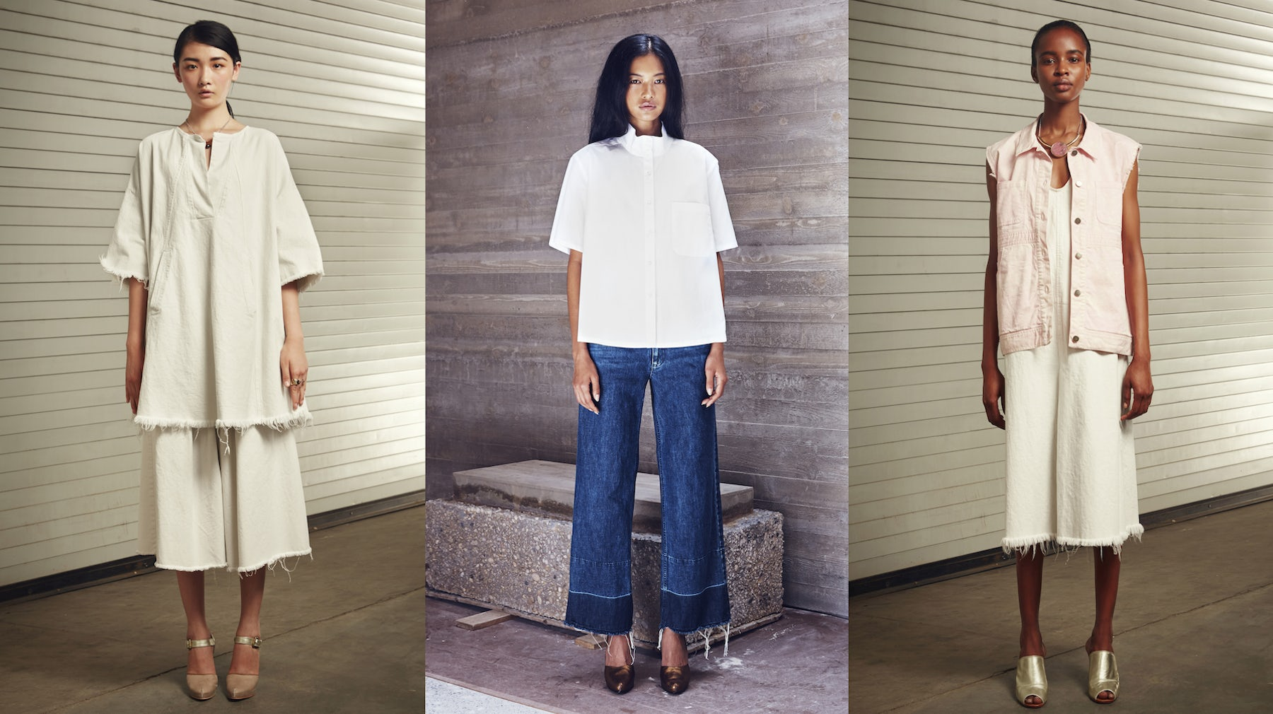 (L-R) Rachel Comey Spring/Summer, Pre-Spring and Spring/Summer 2015 | Source: Courtesy