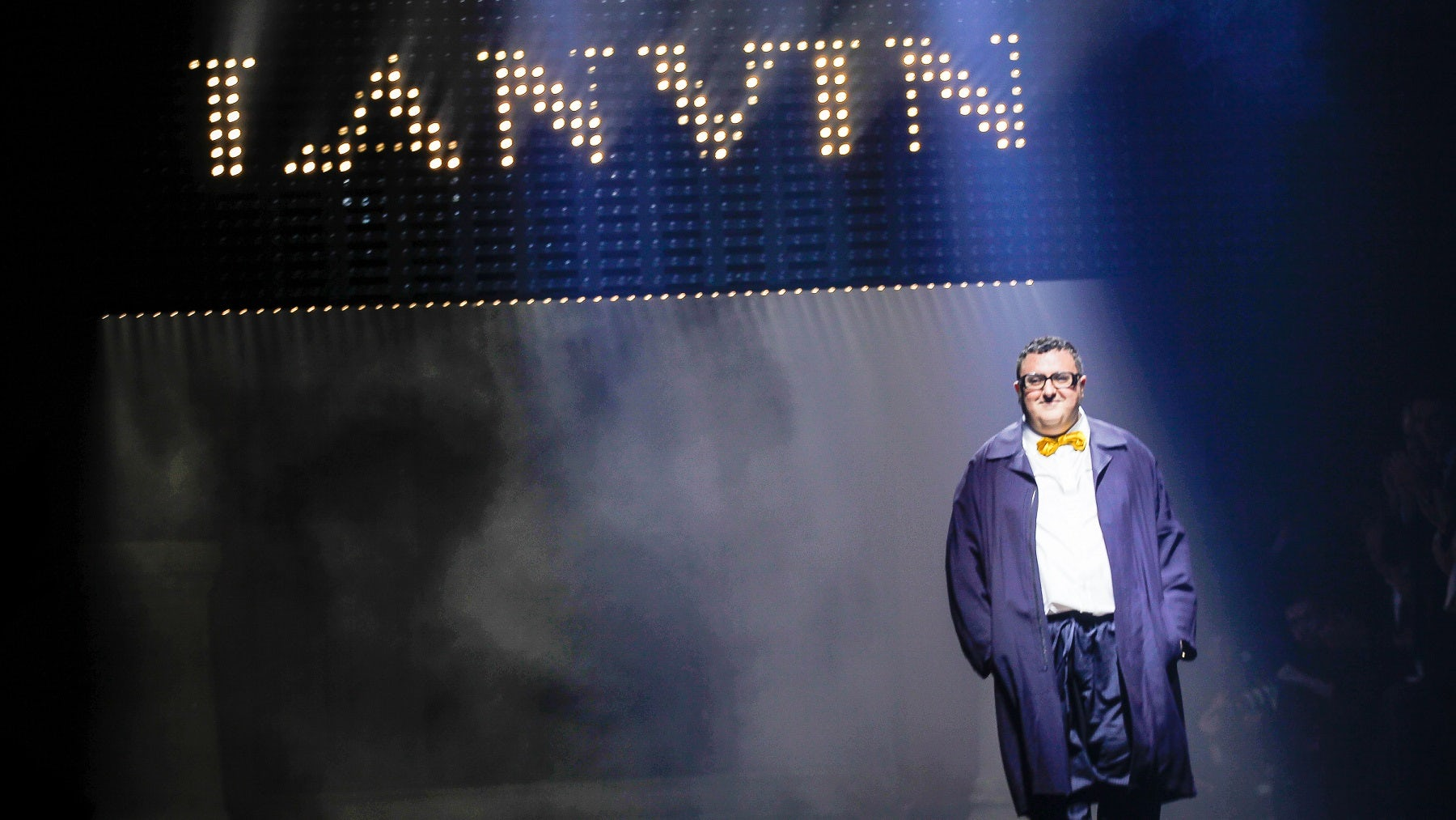 Alber Elbaz at Lanvin Spring/Summer 2016 | Source: Indigital