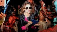 Marieta Severo at São Paulo Fashion Week Spring/Summer 2016 | Source: Getty