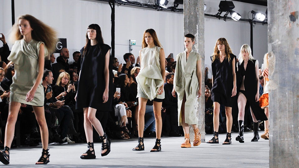 Rick Owens Spring/Summer 2016 | Source: Indigital
