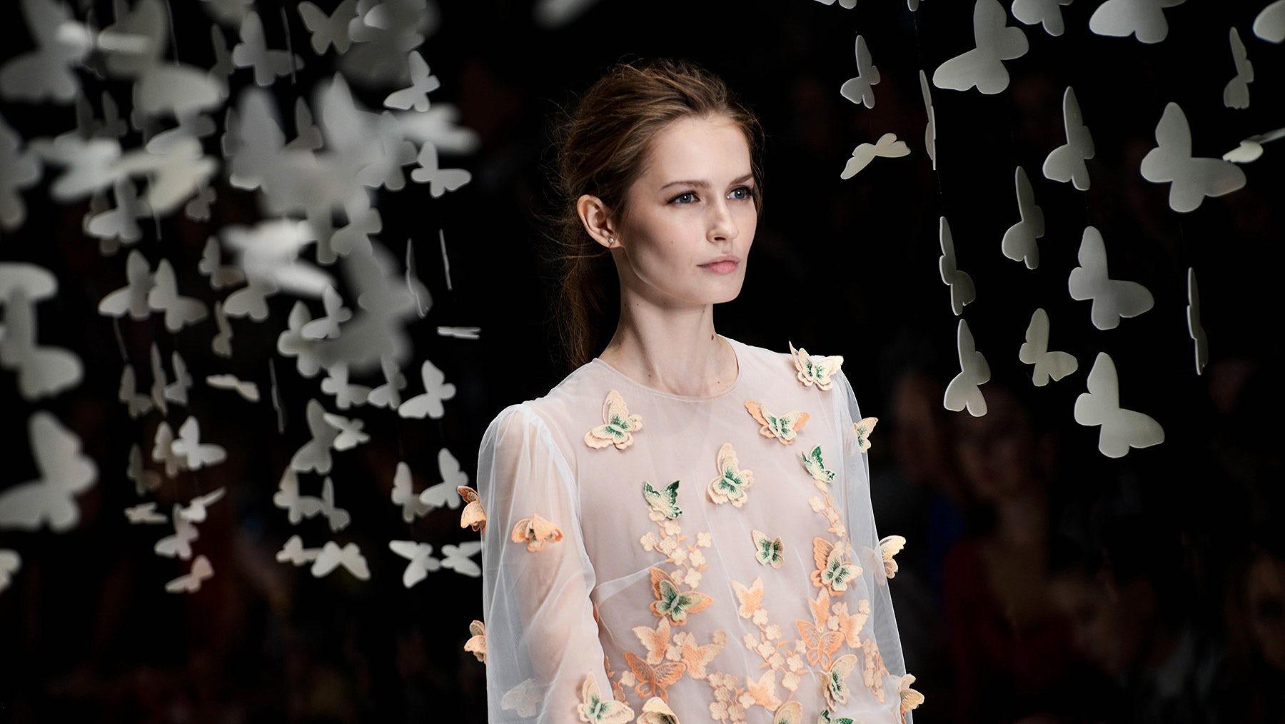 Yulia Prokhorova Beloe Zoloto SS16 at Mercedes-Benz Fashion Week Russia   Source: Courtesy