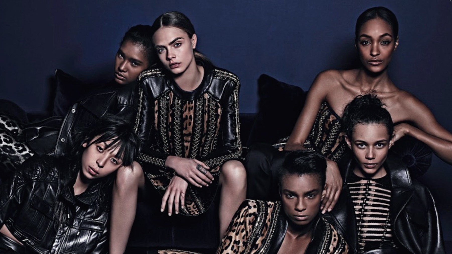 Balmain campaign Autumn/Winter 2014 | Source: Balmain