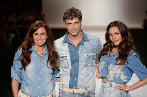 Giovanna Antonelli, Reynaldo Gianecchini and Taina Muller | Source: Getty