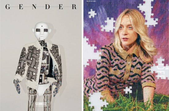 Modern Weekly AW15 Men's(L); Modern Weekly AW15 Women'scover (R) | Source: Modern Weekly