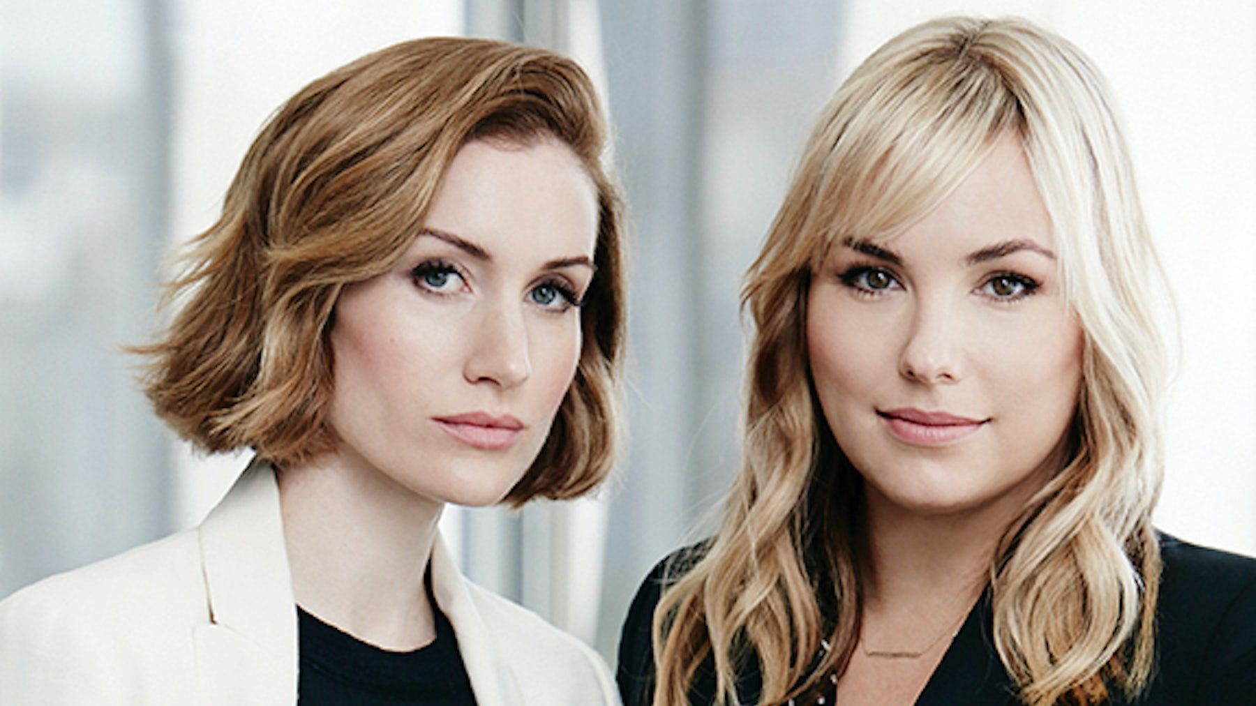 (L-R) Katherine Power and Hillary Kerr | Source: Courtesy