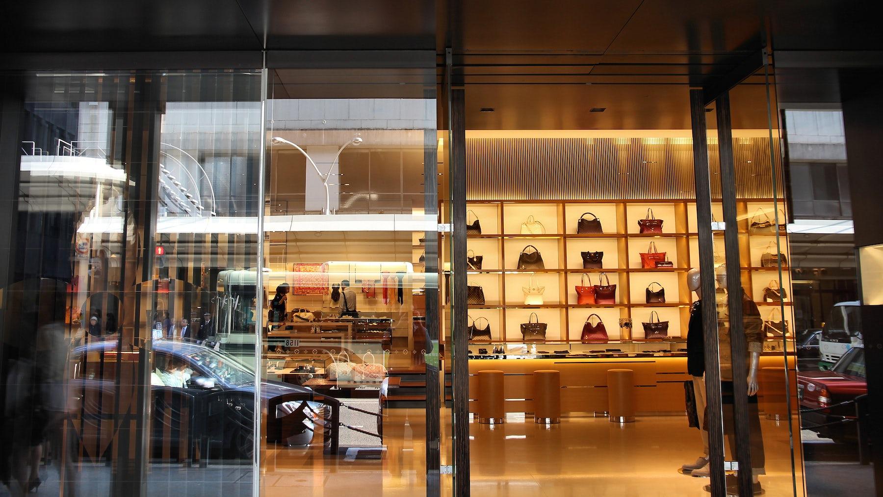 Louis Vuitton store | Source: Shutterstock