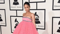 Rihanna in Giambattista Valli at the 2015 Grammy Awards | Source: Shutterstock