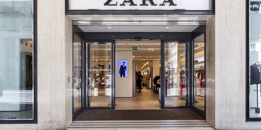 Professional Auto Sales >> Zara's `Treasure Trove' Stores Not So Good for Online ...
