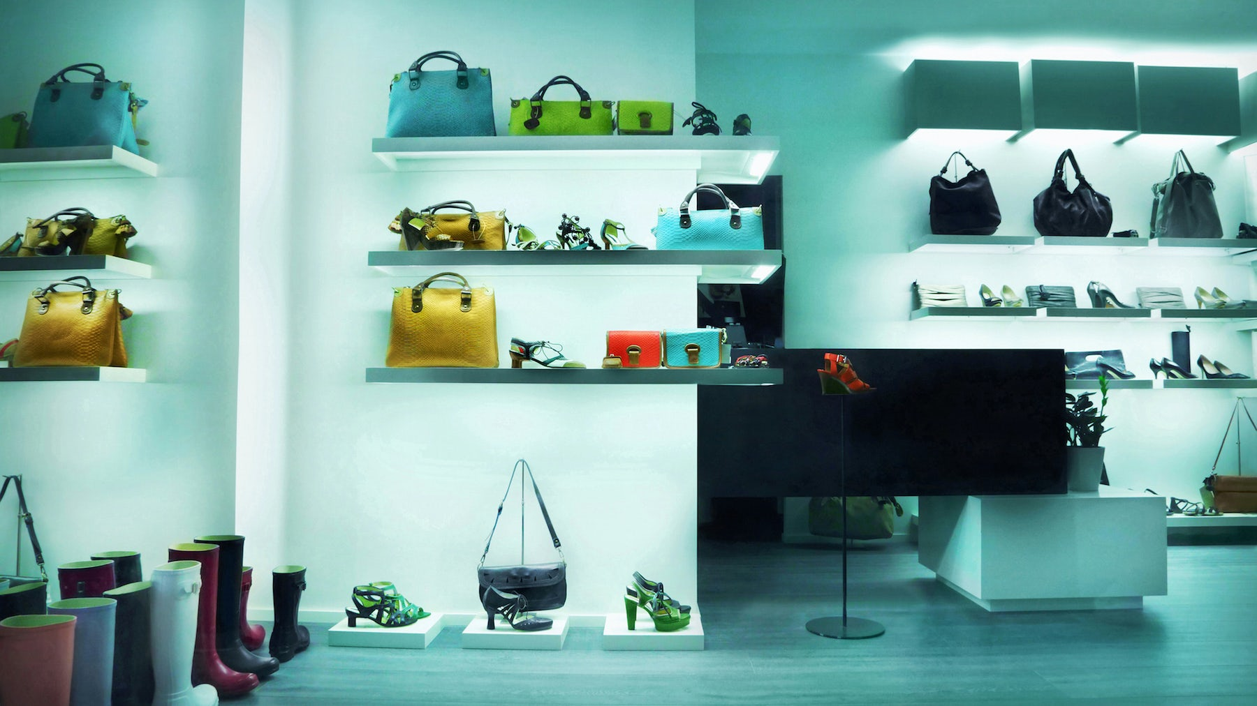 Product on display in a department store | Source: Shutterstock
