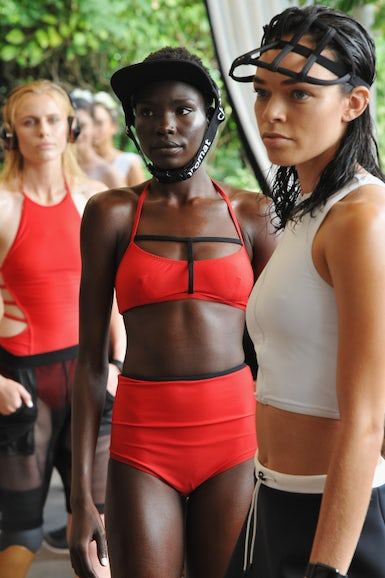 Models wearing Chromat |  Photo: Donato Sardella/Getty