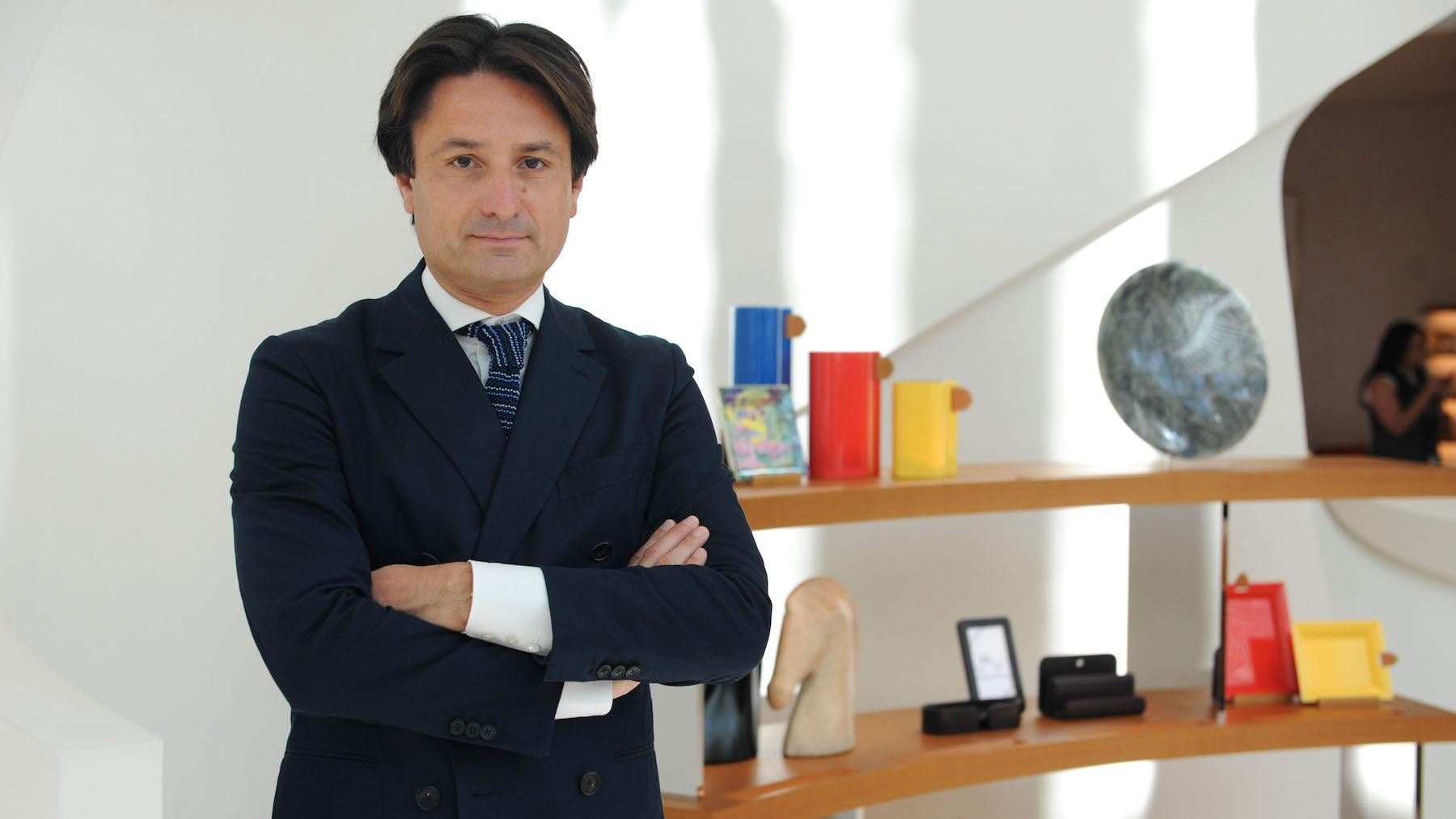 Axel Dumas, global chief executive of Hermès | Source: