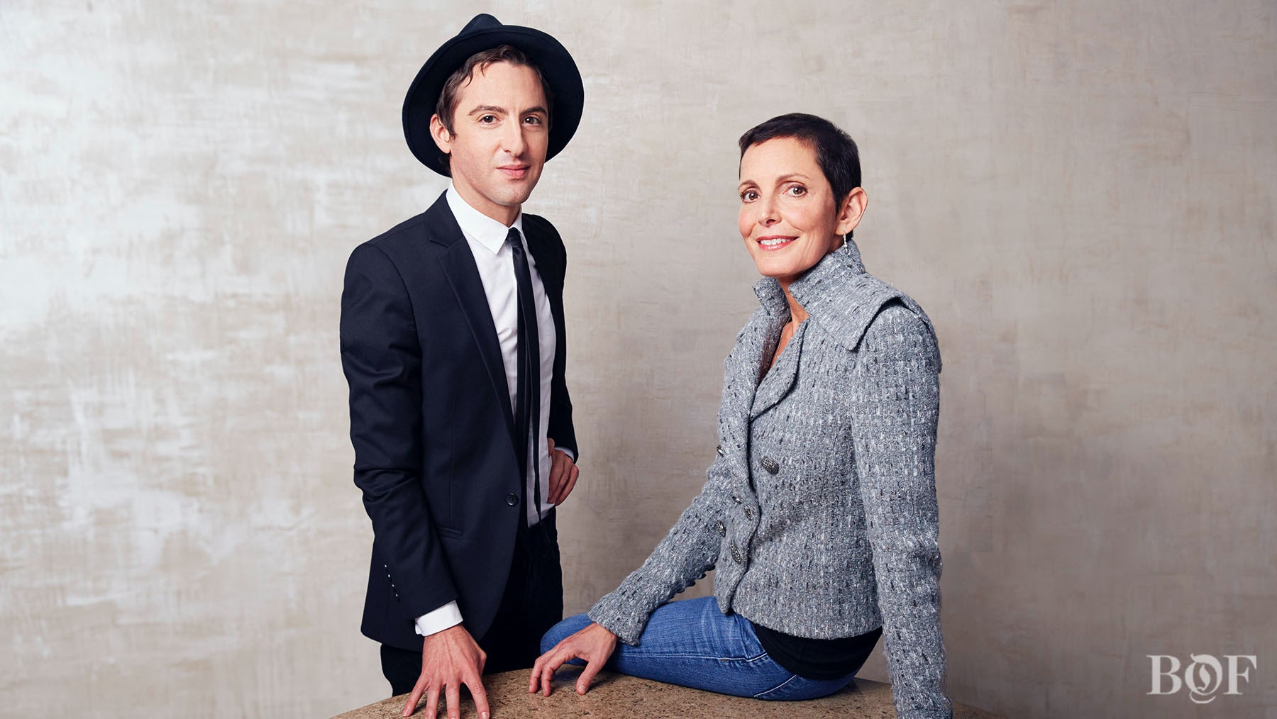 Eddie Borgo and Maureen Chiquet | Photo: Kevin Trageser for BoF