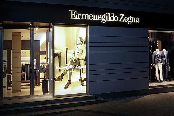 Ermenegildo Zegna store   Source: Courtesy