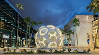Fly's Eye Dome in the Miami Design District | Source: Shutterstock