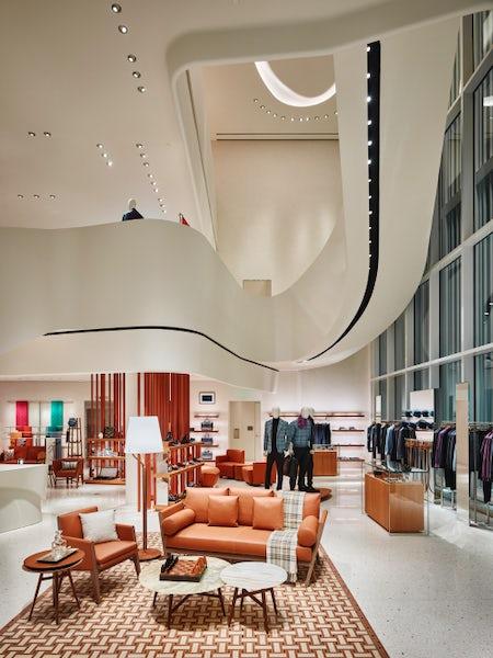 Inside Hermès' new Miami store | Source: Courtesy