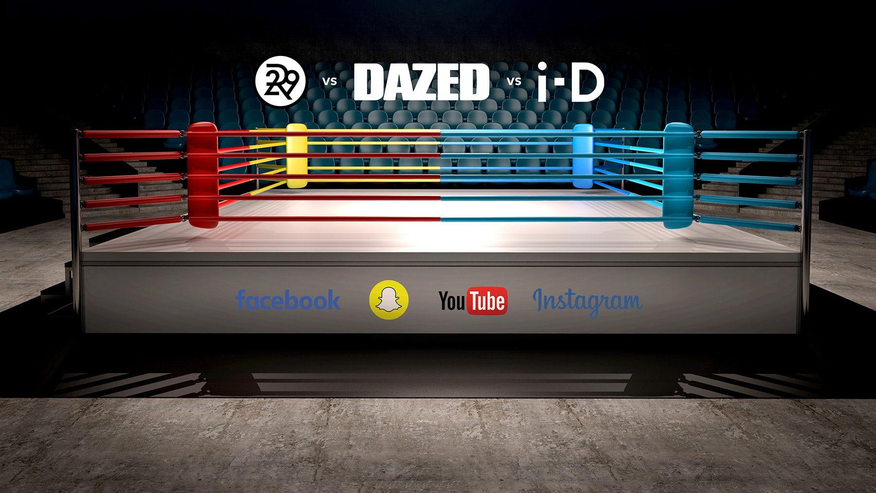 Refinery29, Dazed and i-D Battle for Millennials