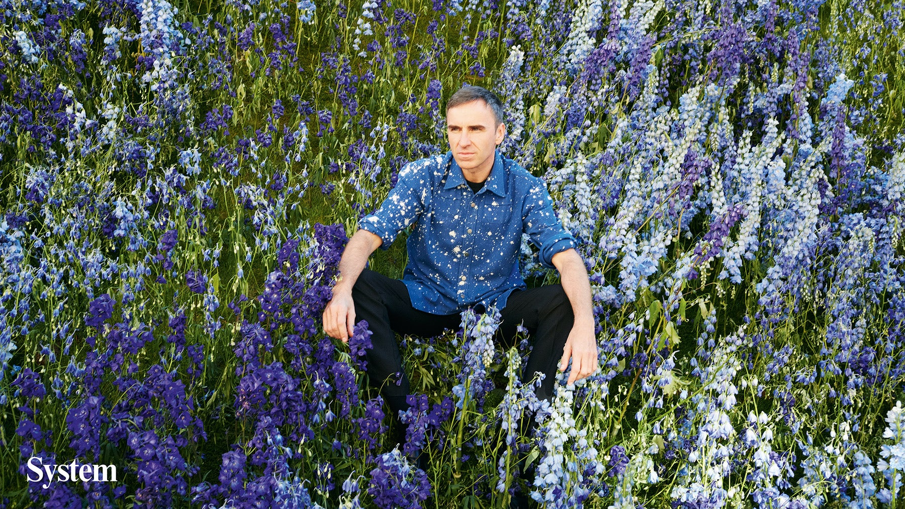 Raf Simons | Photo: Juergen Teller for System