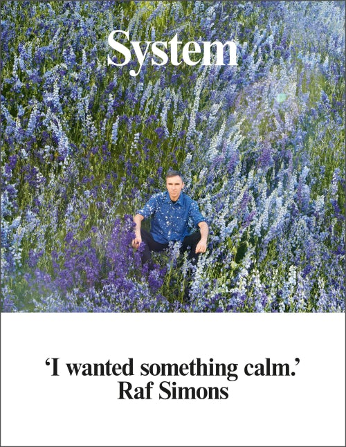 System Raf Simons cover