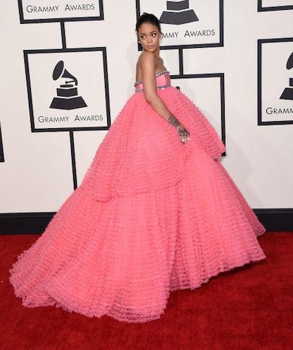 Rihanna in Giambattista Valli | Source: Shutterstock