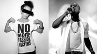 Katharine Hamnett and Kanye West   Source: Courtesy/Shutterstock