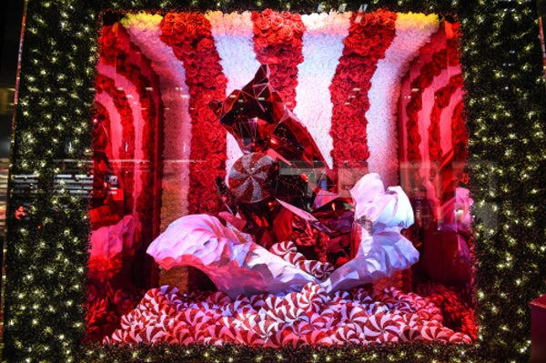 Bloomingdale's Christmas windows 2015 | Photo: Billy Farrell Agency