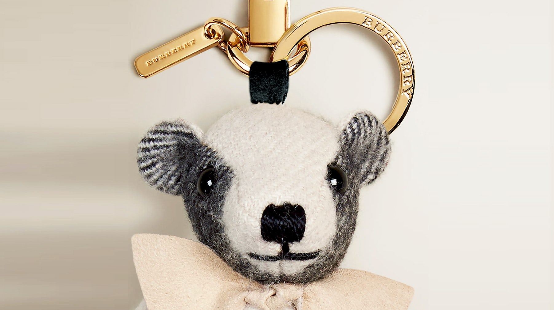Burberry bear key chain | Source: Burberry