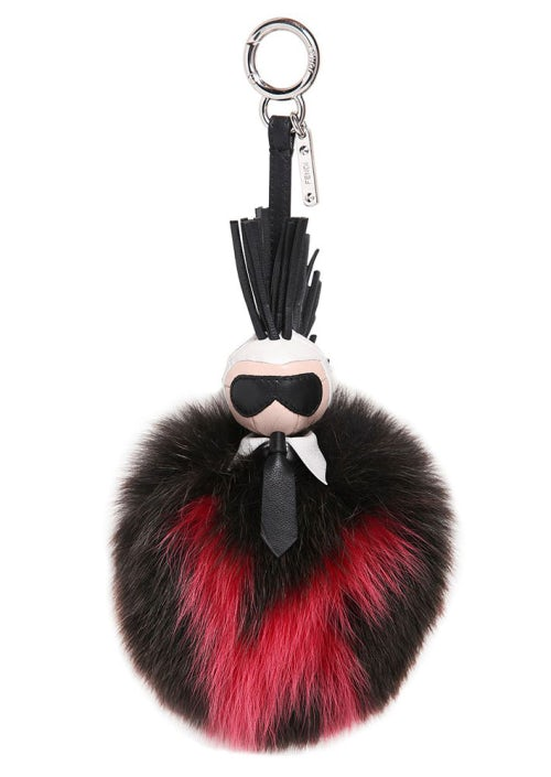 Fendi's 'Karlito' fox fur charm | Source: Fendi