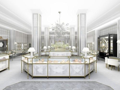 The Fine Jewellery Area of Bergdorf Goodman's