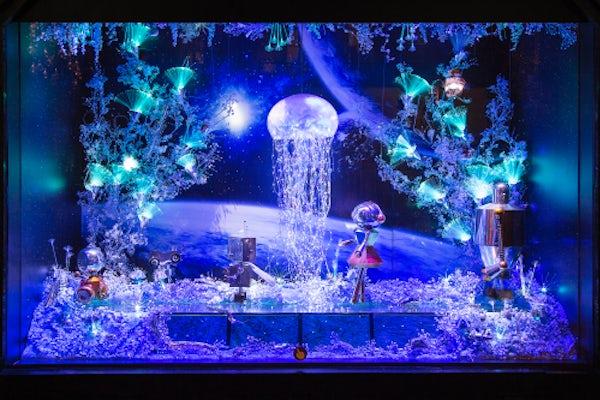 Galleries Lafayette Christmas windows 2015 | Source: Galeries Lafayette