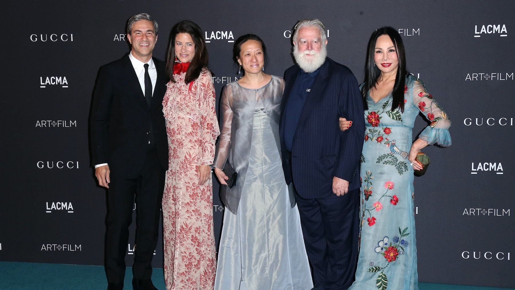Michael Govan, Katherine Ross, Kyung Turrell, James Turrell, and Eva Chow attend the LACMA 2015 Art+Film Gala | Photo: Frederick M. Brown/Getty Images