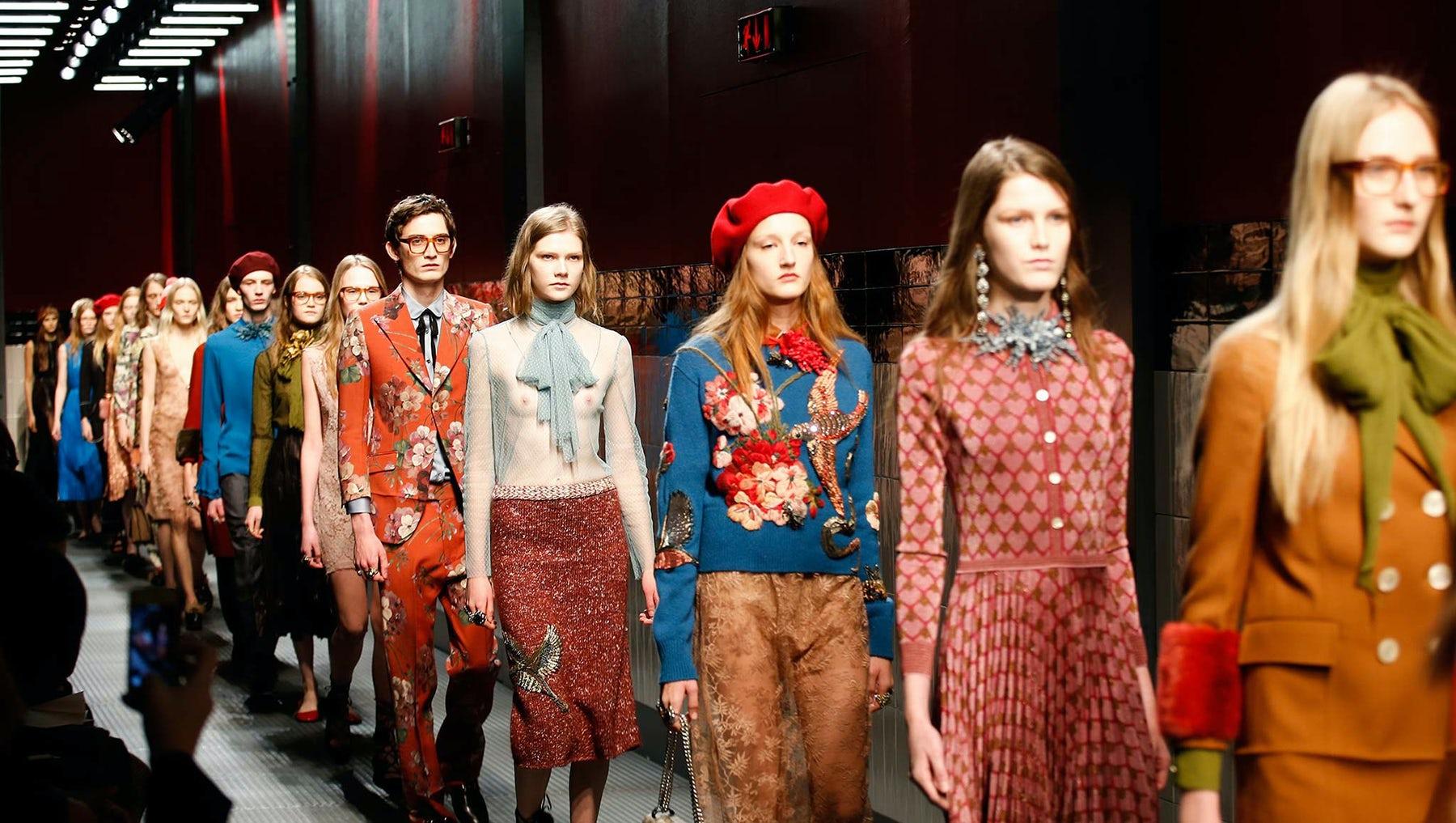 Gucci's Autumn/Winter 2015 show | Source: Indigital