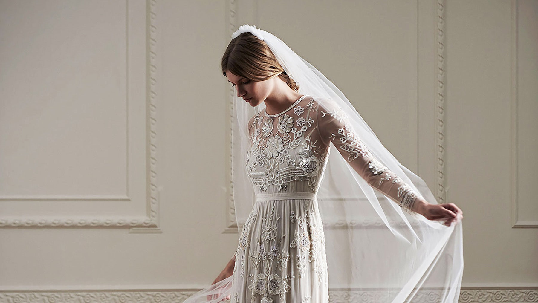 Needle & Thread bridal-wear | Source: Needle & Thread
