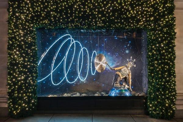 Selfridges Christmas window 2015 | Photo: Andrew Meredith for Selfridges