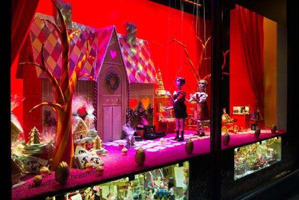Harrods Christmas windows 2015 | Source: Harrods