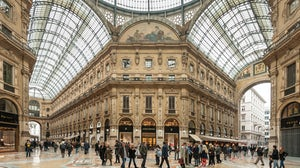 The Galleria Vittorio Emanuele II in Milan | Source: Shutterstock