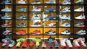 Adidas footwear   Source: Shutterstock