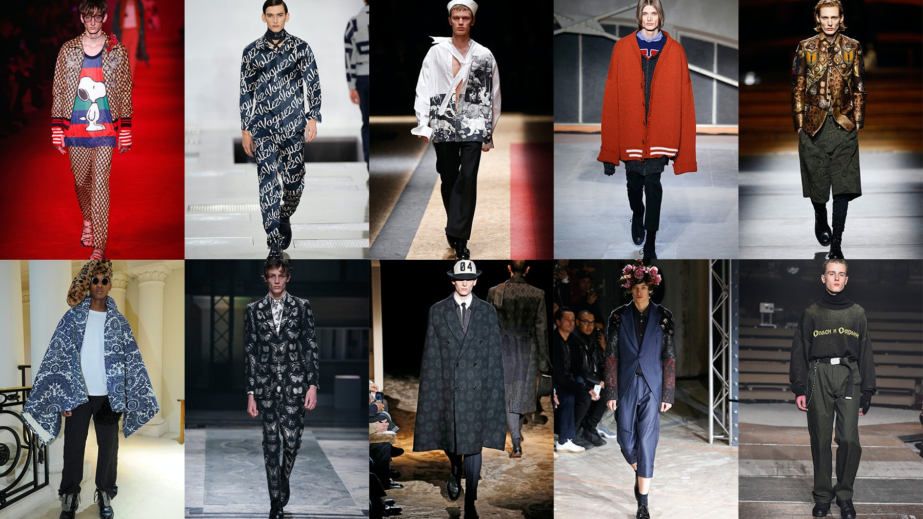 Top 10 Menswear Shows Autumn/Winter 2016