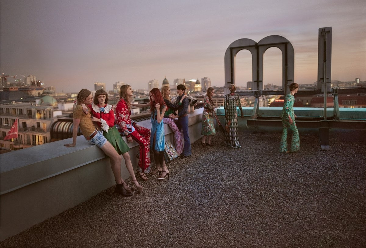 Glen Luchford's most recent campaign for Gucci Spring/Summer 2016 | Source: Gucci