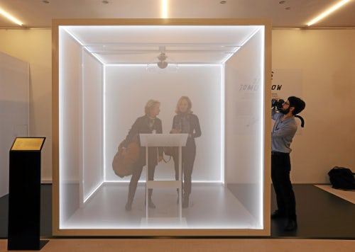 'This Time Tomorrow' exhibition at the 2016 WEF in Davos | Source: Flickr/Michele Limina