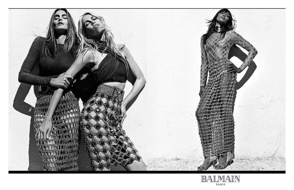 Balmain Spring/Summer 2016 Campaign | Source: Courtesy