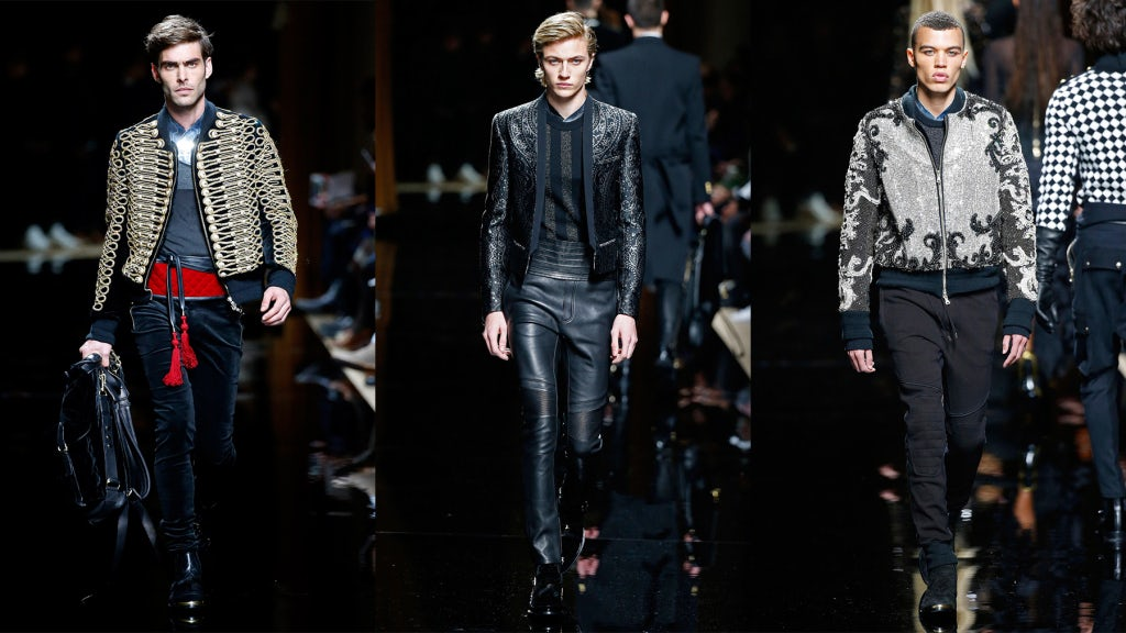 Balmain Autumn/Winter 2016 | Source: InDigital.tv View Collection