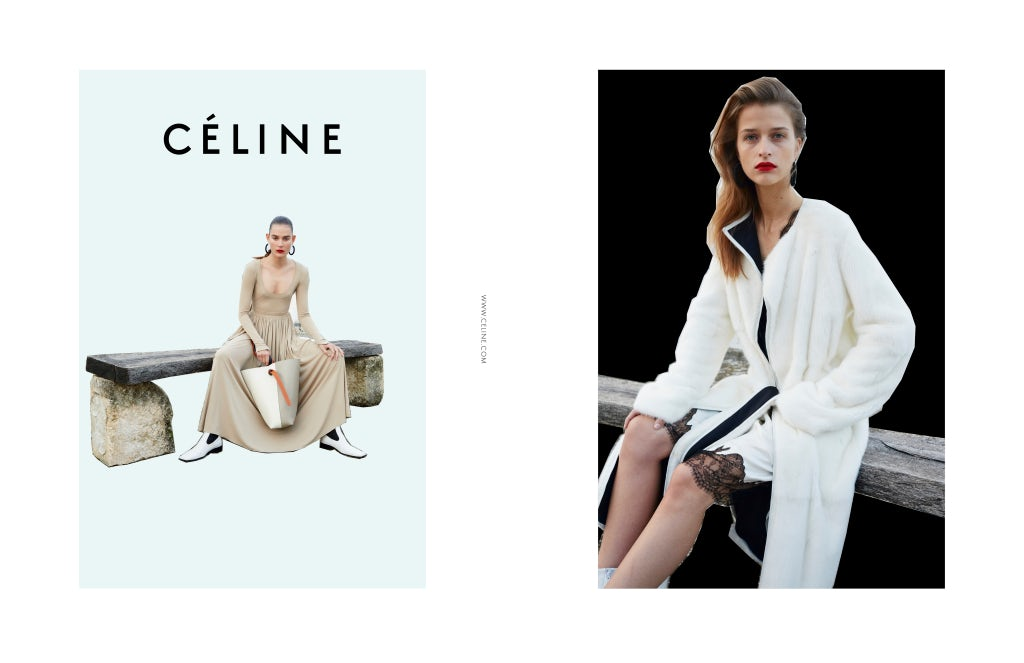 Céline Spring/Summer 2016 Campaign | Source: Courtesy
