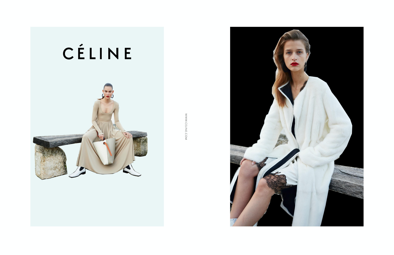 celine designer sve3  C茅line Spring/Summer 2016 Campaign  Source: Courtesy
