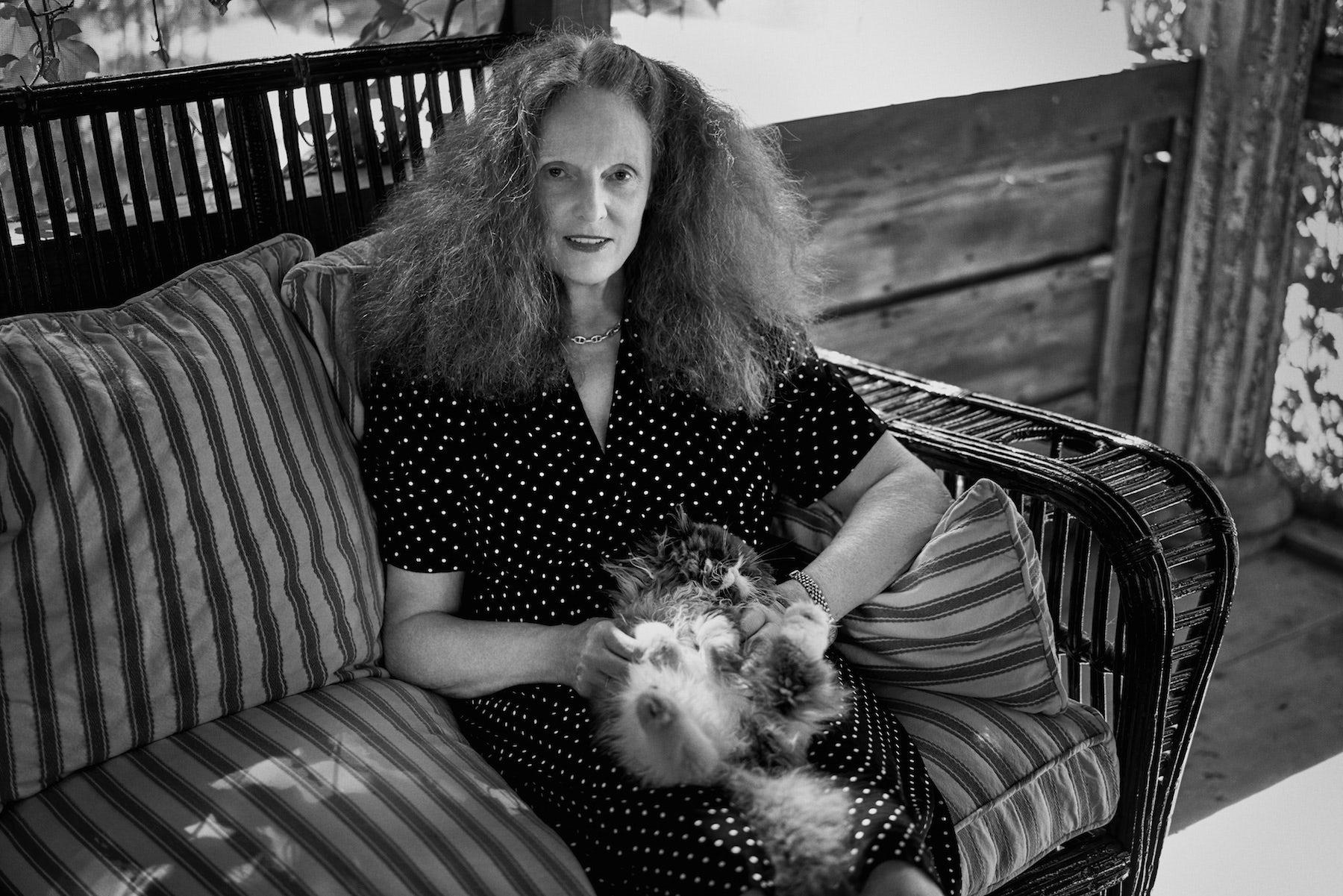 Grace Coddington | Photo: Fabien Baron/Trunk Archive