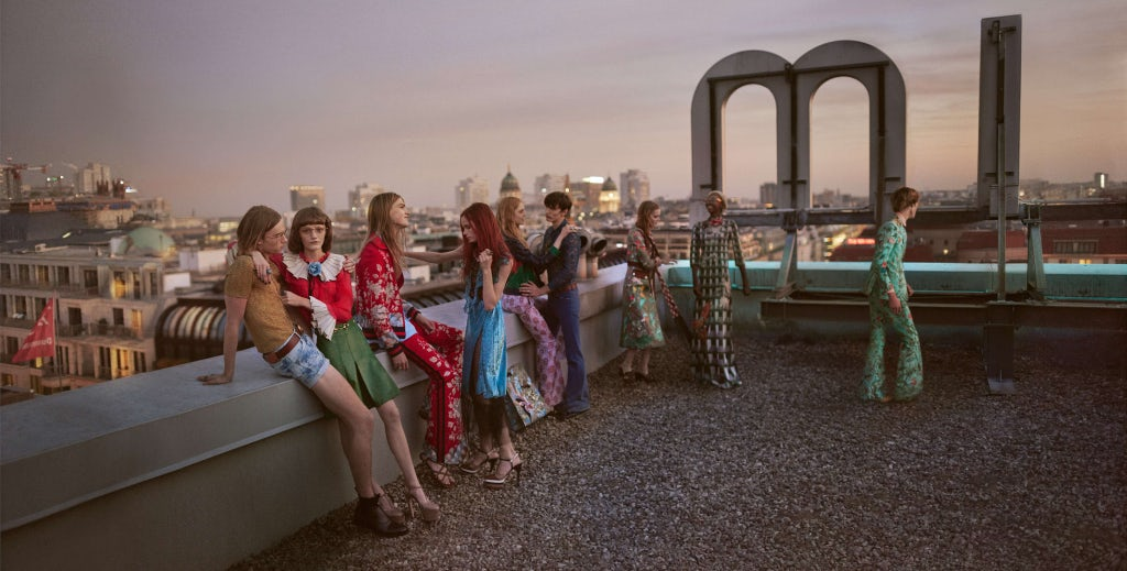 Gucci Spring/Summer 2016 Campaign | Source: Courtesy