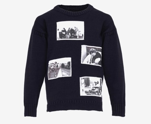 Sweater by JW Anderson and Ian David Baker | Source: Courtesy