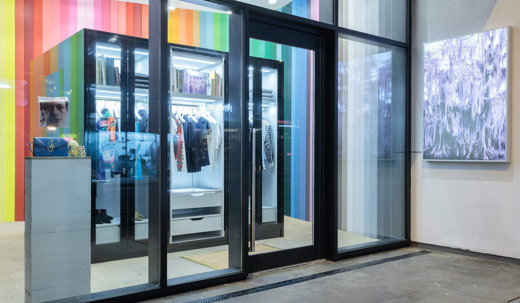 JW Anderson's 'Workshop' next to London's Ace Hotel   Photo: Mark Blower