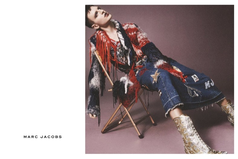 Milk stars in Marc Jacobs' spring 2016 campaign | Source: Marc Jacobs