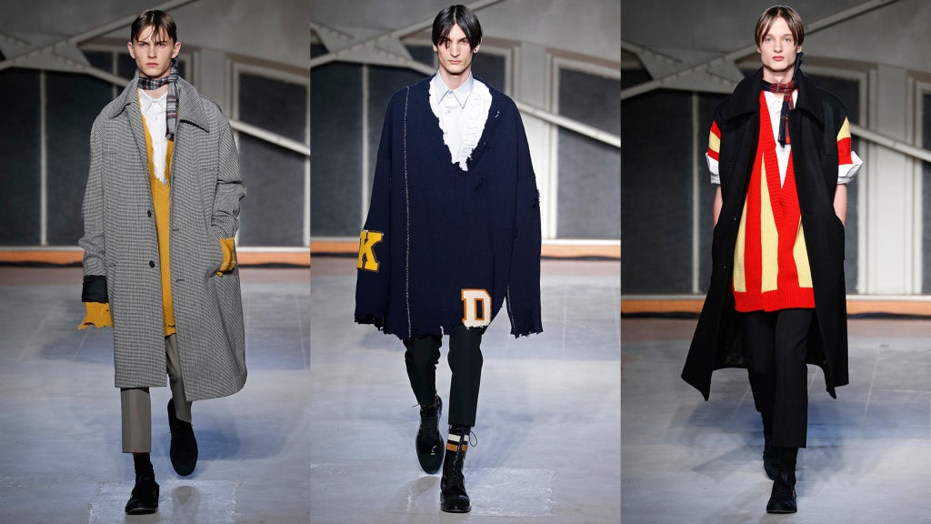 Raf Simons Autumn/Winter 2016 | Source: InDigital.tv View Collection