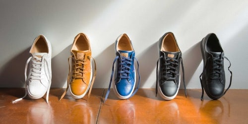 Greats' Royale sneakers in leather | Source: Courtesy